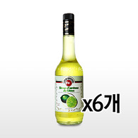 FO시럽 라임 700ml x 6개